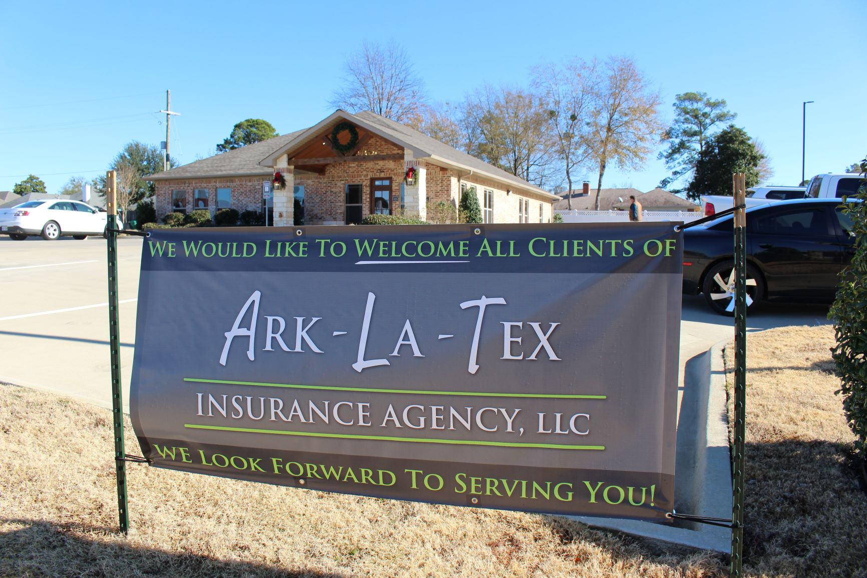 Welcoming our new clients from Ark-La-Tex Insurance